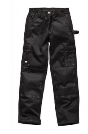 Deluxe Multi-Pocket Pant- IN30030-Black