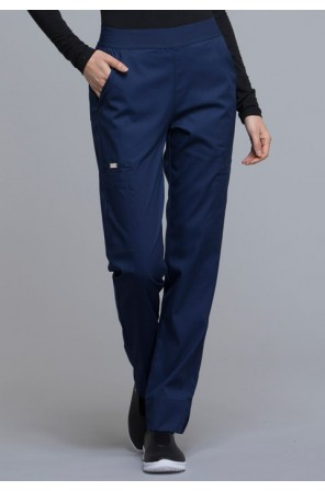 Natural-Rise Tapered Leg Pant-CK040