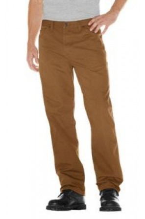 Carpenter Duck Pant- 1939-Rinsed Brown