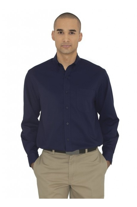 COAL HARBOUR® EVERYDAY LONG SLEEVE WOVEN SHIRT- D6013