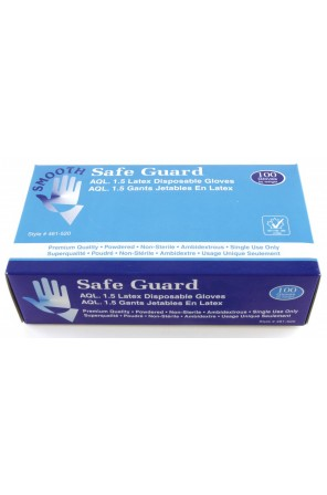 Disposable Latex Gloves (Powdered) 46I-520