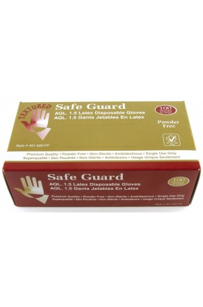 Disposable Latex Gloves (Powder Free) 46I-520PF