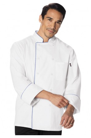 Cool Breeze Chef Coat with piping- DC411