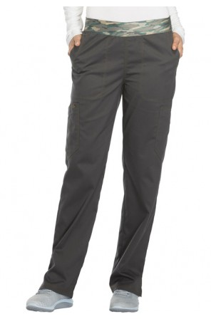 Mid Rise Tapered Leg Pull-on Pant- DK140