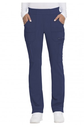 Mid Rise Tapered Leg Pull-on Pant - DK195