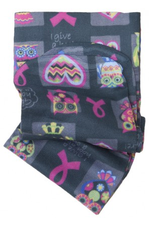 Knee Highs 12HGmm Compression in I Give A Hoot