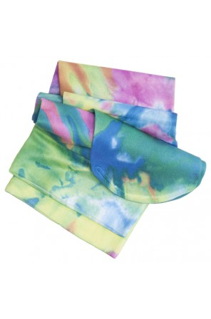 Knee Highs 12HGmm Compression in Multi Tie Dye