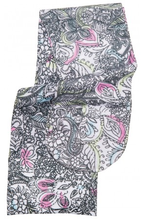 Knee Highs 12HGmm Compression in Peaceful Paisley