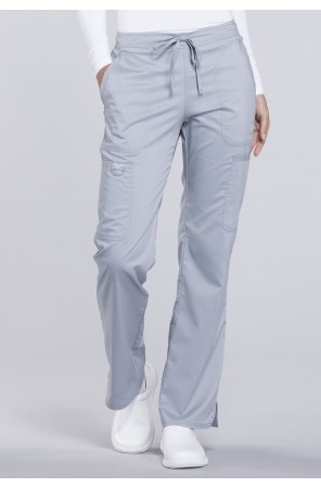 Mid Rise Moderate Flare Drawstring Pant - WW120